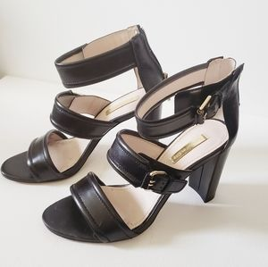 Louise et Cie black Ankle Strap Sandals size 6